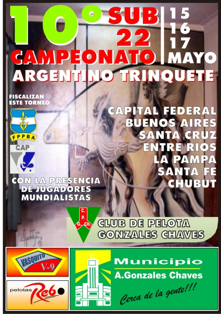 AFICHE GONZALES CHAVES